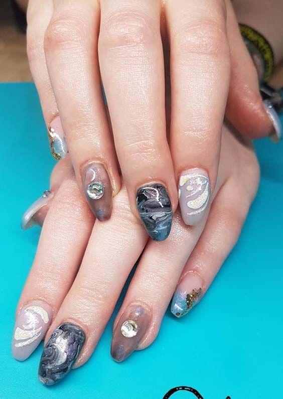 55 Best Nail Arts And Nail Polish Ideas For Women 2018 Vivis