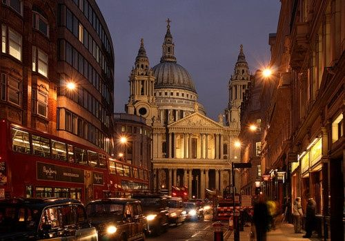 Night Lights, London, England photo via katie