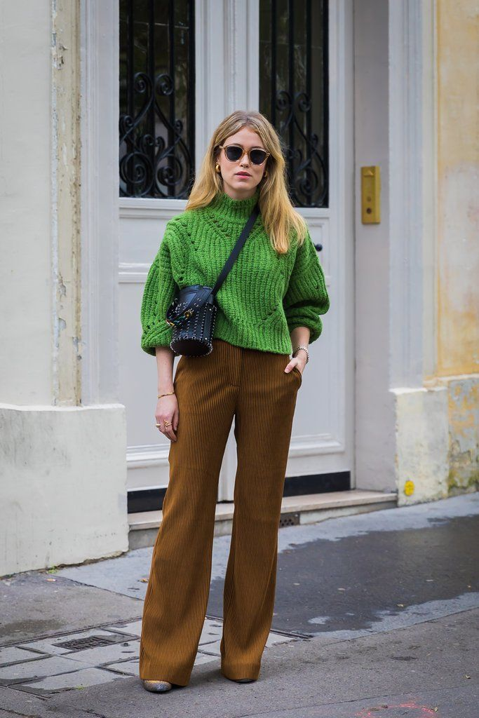 Day 3 | Paris Fashion Week Street Style Spring 2018 | POPSUGAR Fashion Photo 204
