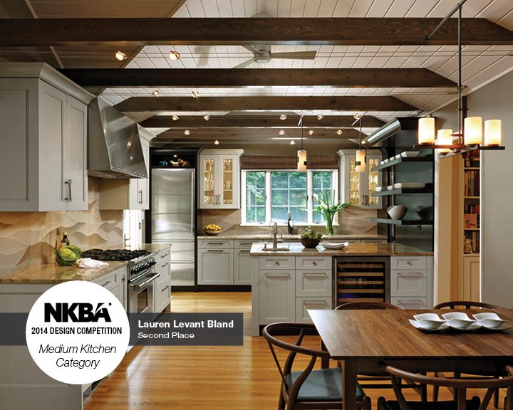 2014 nkba design competition winner medium kitchen 2nd place sands of time designed - Kitchen Design Competition