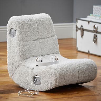Sherpa Mini Rocker Speaker Chair