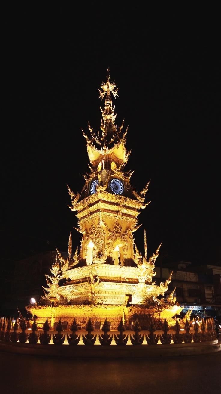 Torre del reloj Chang mai THAI