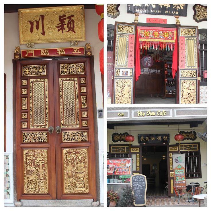 Things to do around Penang!! #Chinesedoorart #Georgetown #penang #malaysia #lifebeyond9to5
