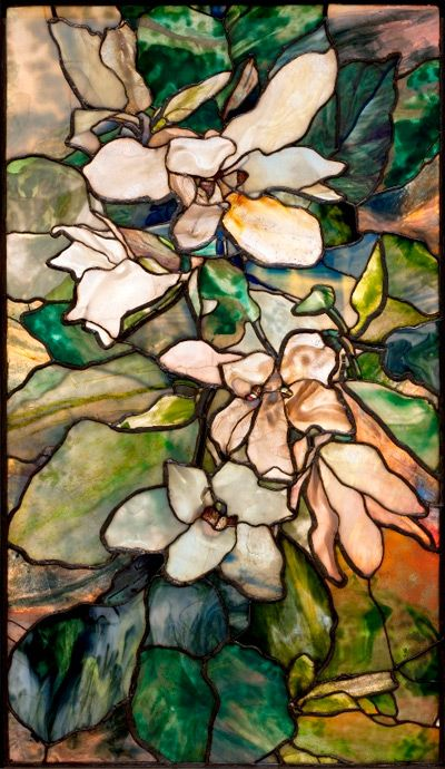 Glass window by Tiffany Photo/Virginia Museum of Fine Art
