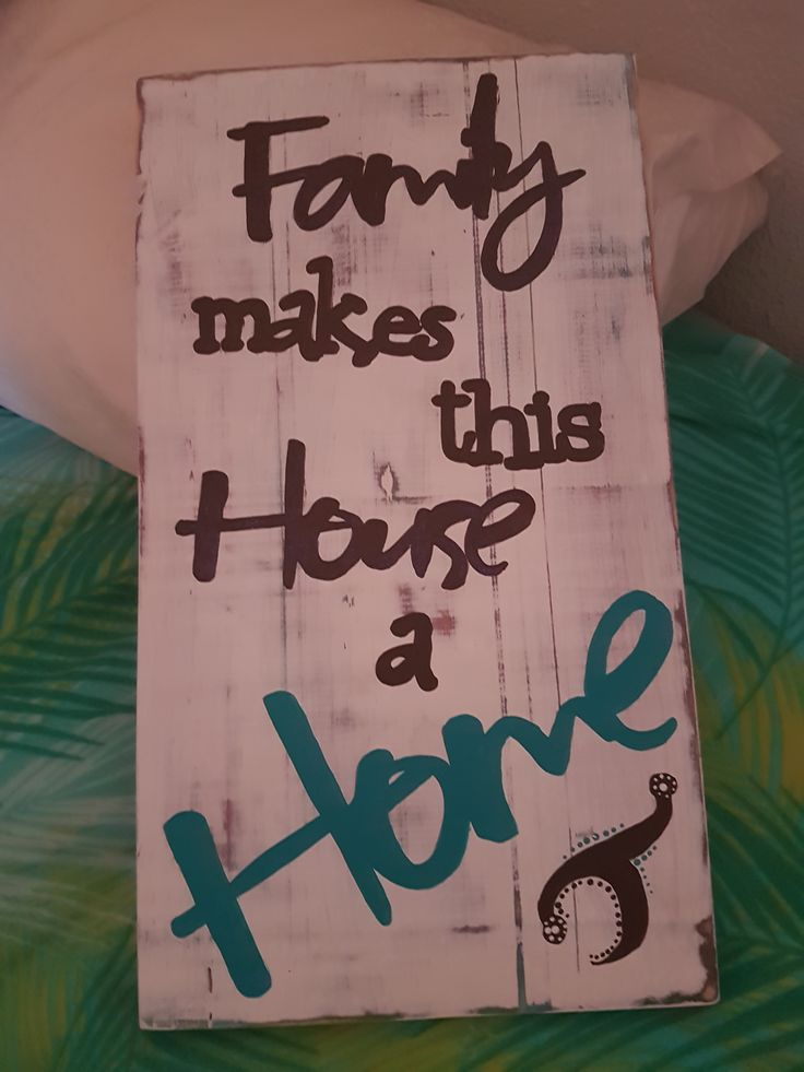 Quote Boards - Family makes this house a home