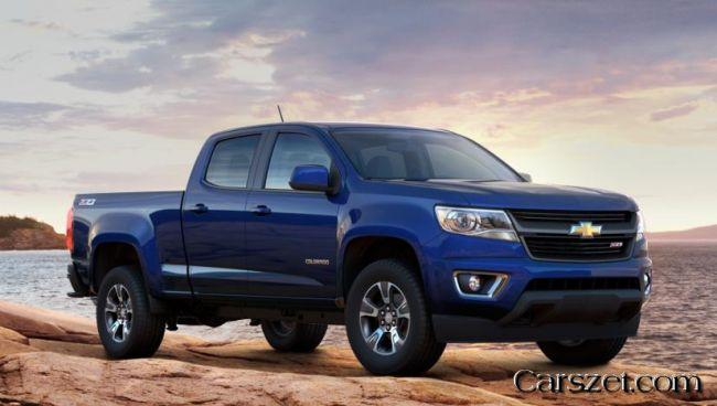 New 2018-2019 Chevrolet Colorado will dosutpen in 10 colors