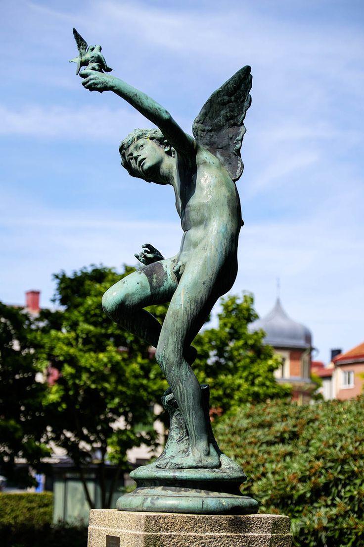 "Statyn ""Tjusningen"", Ronneby - Blekinge"