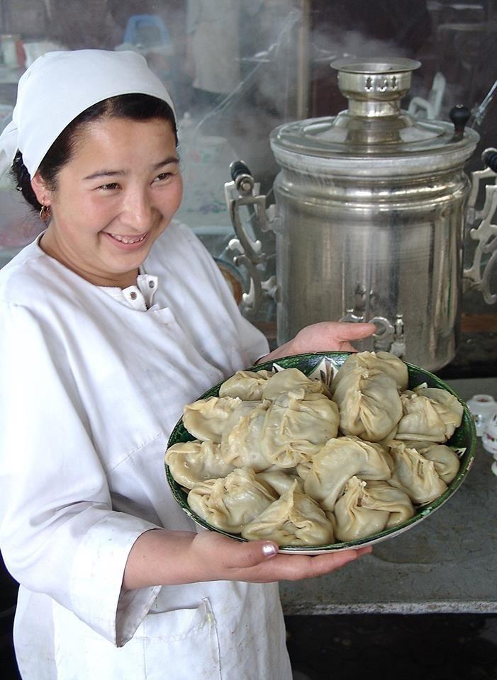 Любимое блюдо каждого Кыргызстанца Favorite food every Kyrgyz    #Манты / #Manty