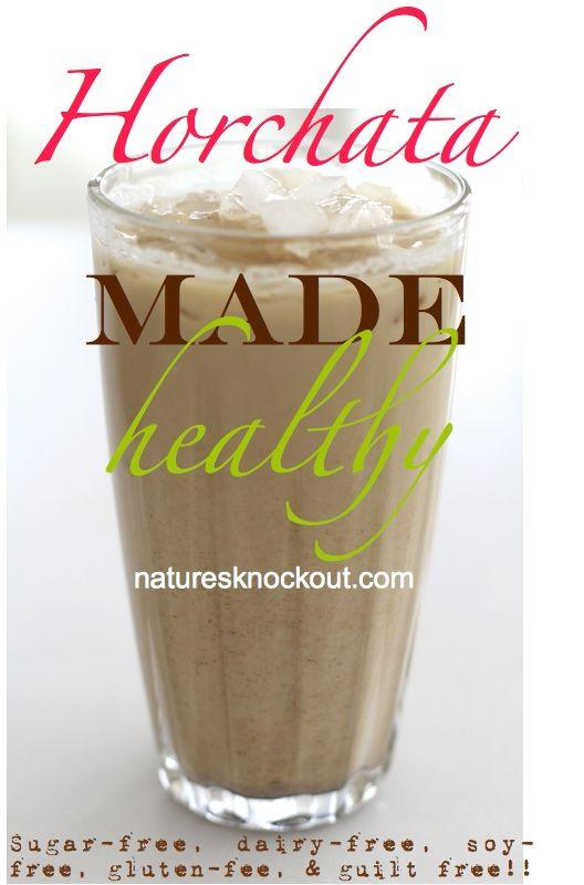 Delicious Horchata Recipe - Sugar Free, Gluten Free, Soy Free!