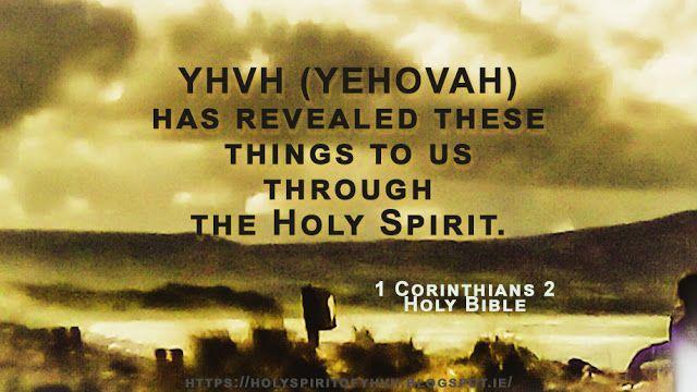 Holy Spirit: YHVH's Revelations..!