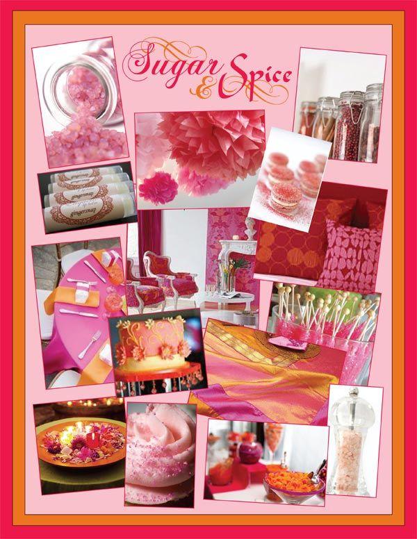Superior Bump Smitten: Baby Shower Idea: Sugar U0026 Spice Inspiration Board