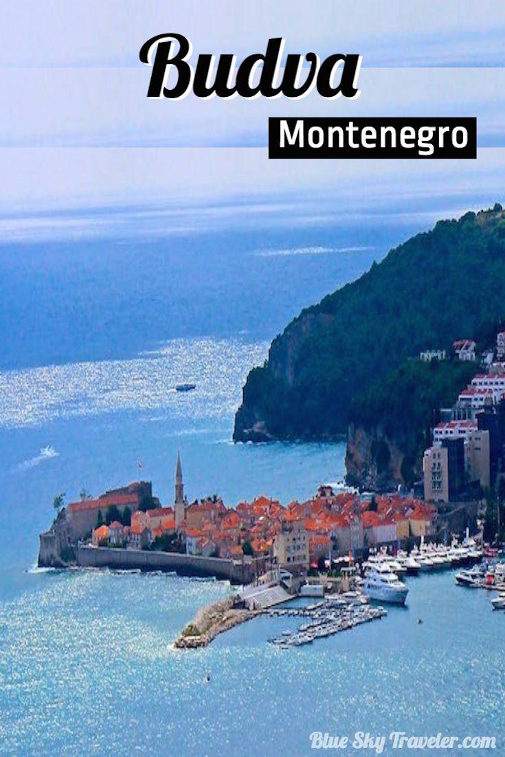 Budva On The Montenegro Riviera