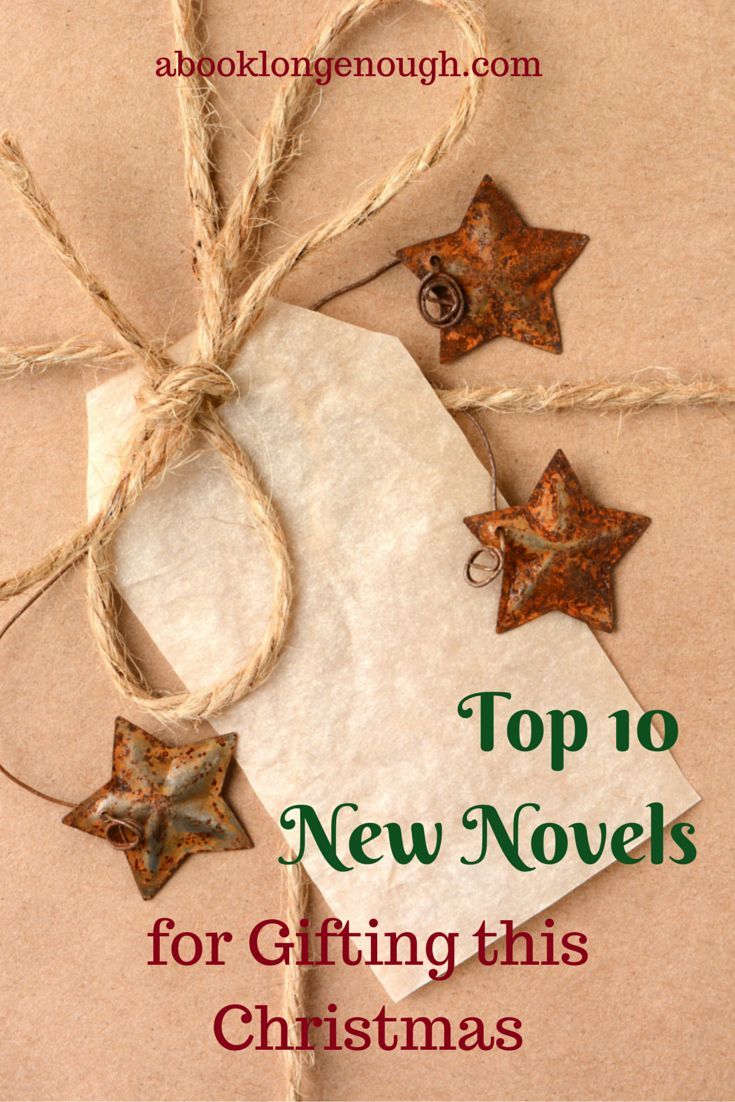 Take a look at ten brand new 2014 novels that make perfect gifts for book lovers this holiday season.