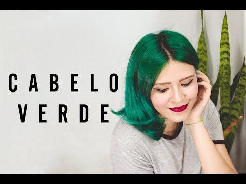 Vídeo: como pintar o cabelo de verde usando anilina • O Mundo de Jess