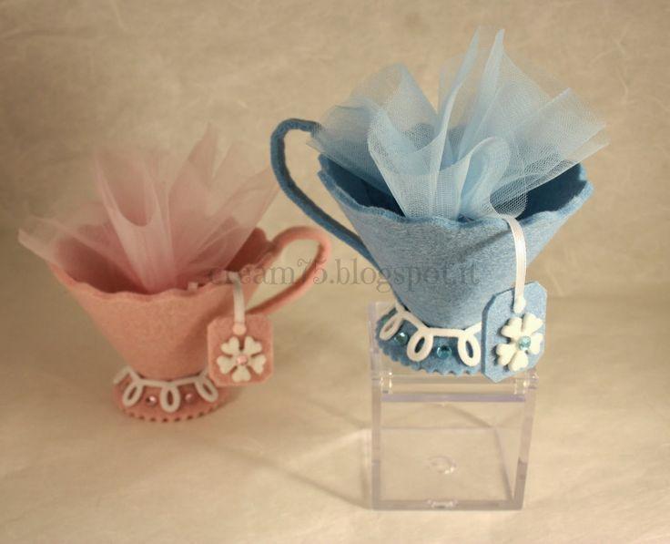 My Sweet Blog: Tazze porta confetti