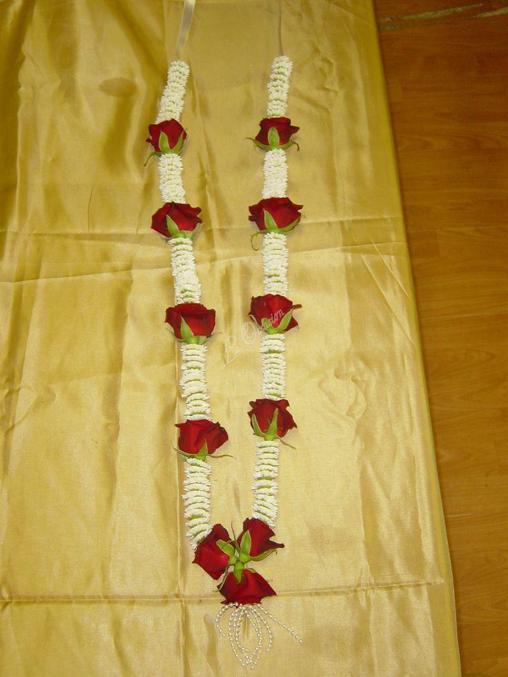 jaimala garlands images | ... Red Rose and White Wedding Haar, Wedding Garland, Wedding Jaimala