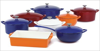 AWESOME cast iron cookware!  Mario Batali of course