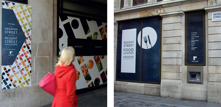 Noted: New Logo and Identity for Regent Street by Small Back Room