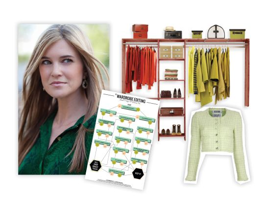 How to edit your wardrobe. Closet purging advice from Katie Anderson via Stylebook