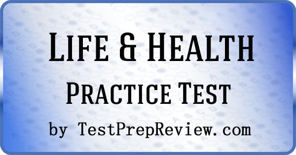 health insurance test questions Free life, health and annuity trial exam this is a sample of the full florida life, health and annuity practice exams that include hundreds of professionally written questions.