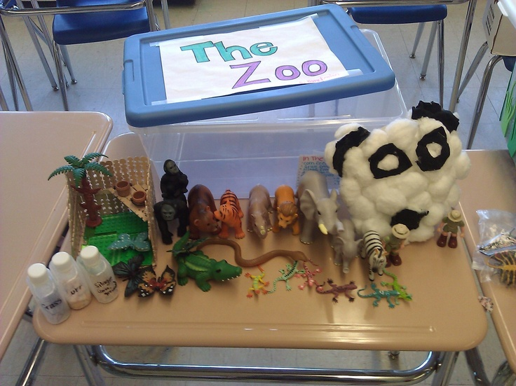 Prop Box Ideas The Zoo House Center Pinterest The