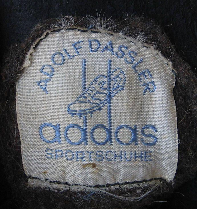 Vintage 1948 pre Adidas Adolf Dassler Addas track shoes *adi ass waitzer tokyo