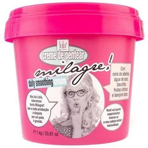 14 produtos de beleza caros que valem o sacrifício - Creme de pentear Milagre Lola Cosméticos - R$ 64