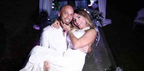 Reguetonero Alexis vive el amor a distancia con su nueva esposa...