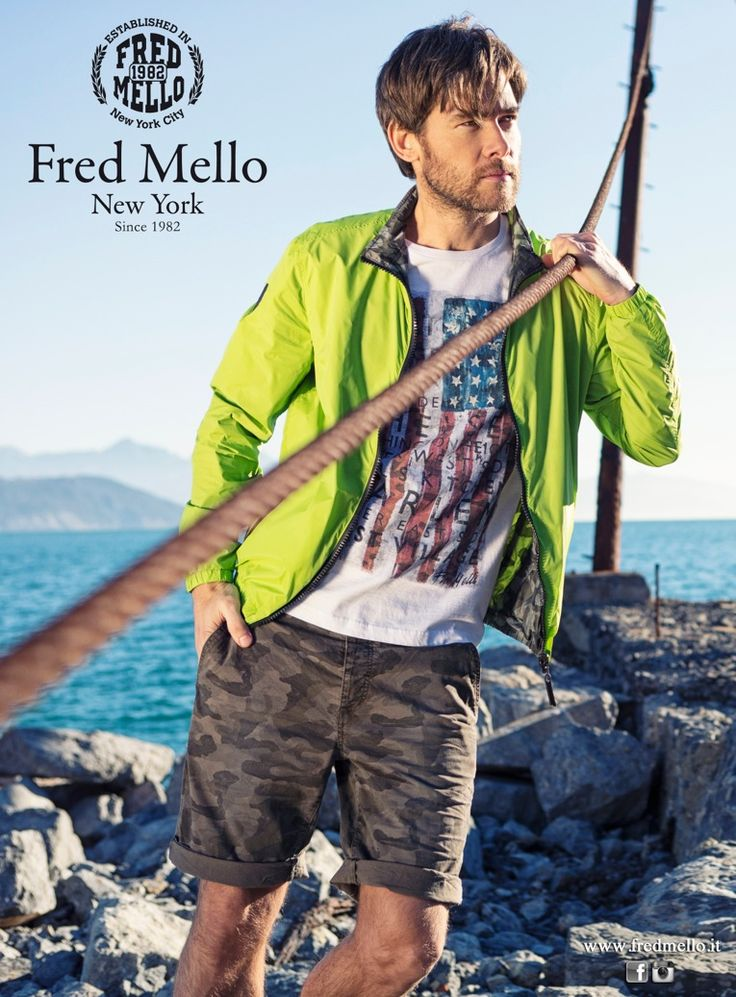 PATRICK for Fred Mello SS15 Campaign #boommodels #malemodels #models #campaign #ss15 #menswear #collection #fashion #sea #summer