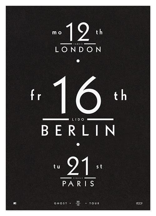 London Berlin Paris Poster