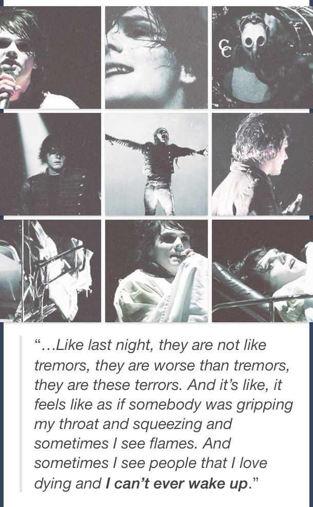 Gerard Way | quotes / Sleep lyrics