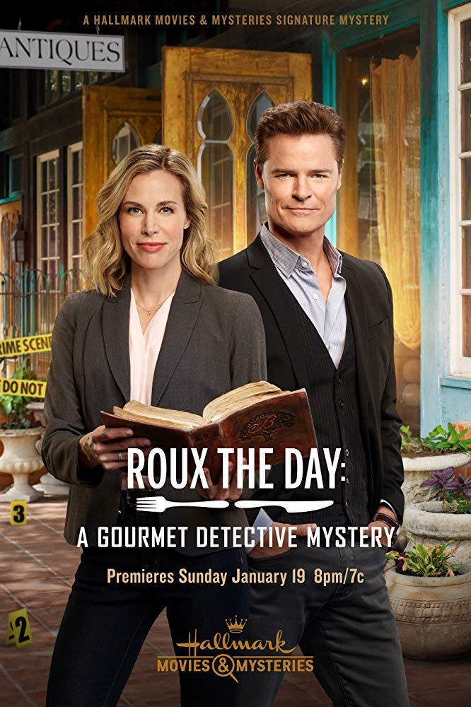 Movie Review Gourmet Detective Roux The Day In 2020 Hallmark