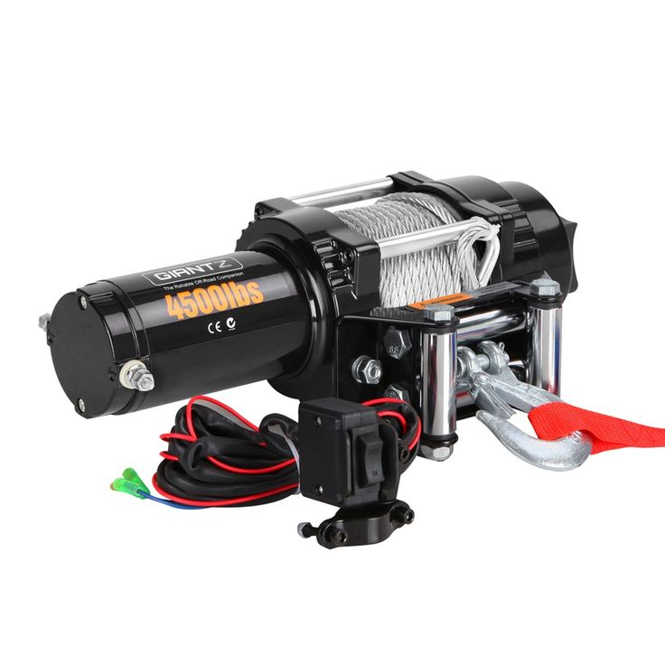 4500LBS Electric Winch Steel Wire w/ Remote