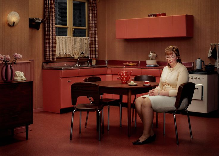 The Kitchen  photo by Erwin Olaf, Hope series, 2005