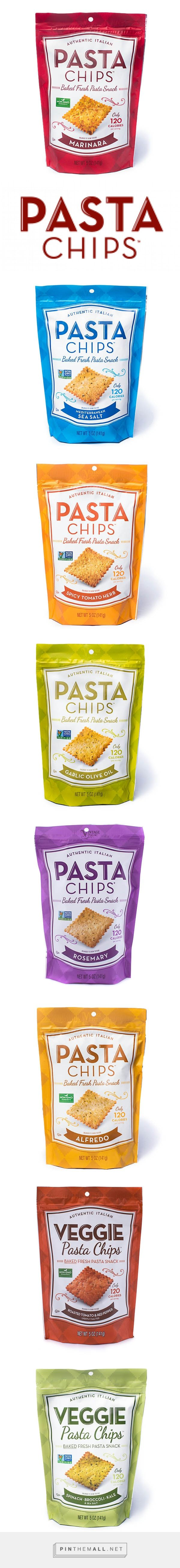 Pasta Chips - Baked Fresh Pasta Snack. Pin curated by #SFields99 #packaging #design #inspiration #ideas #snacks #veggie #chips #pasta