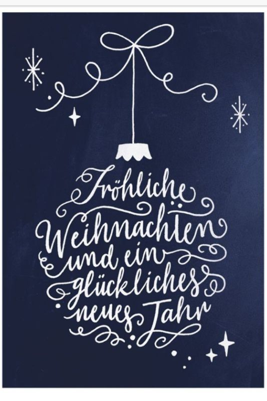 Christmas card inspiration. Weihnachten!