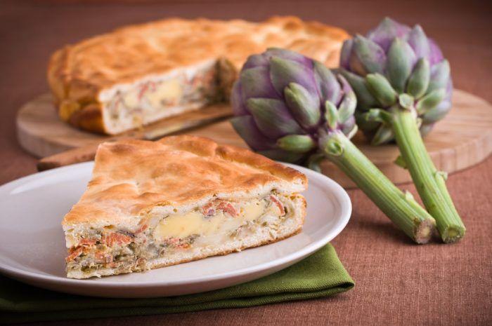 Artichoke pie. WOW French?!