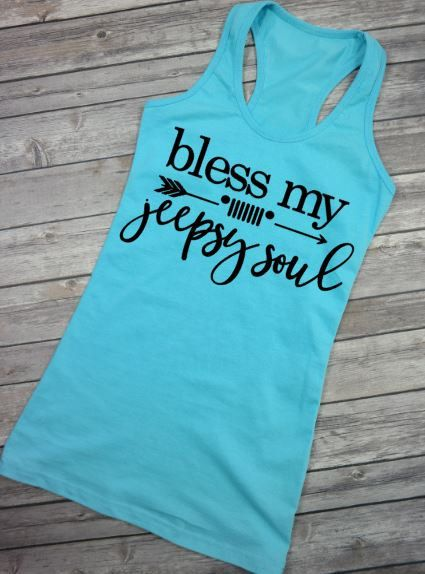 Bless My Jeepsy SoulJeep Life is better in a Jeep Jeep Wrangler Rubicon Sahara Unlimited Jeeper for Life Jeepher Jeep Tank Top Jeep Tank