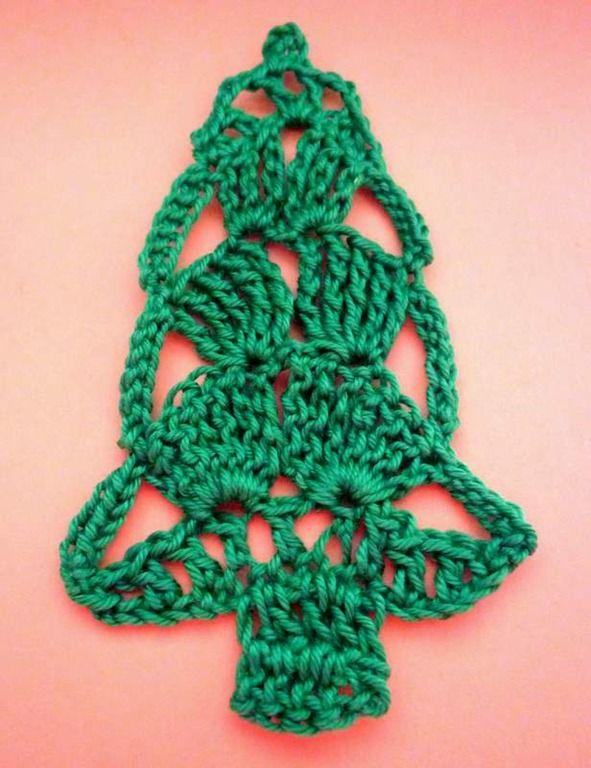 Kerstboom applicatie 5 haken « Blij met Draadjes