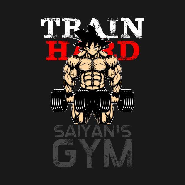 TRAIN HARD - Gym
