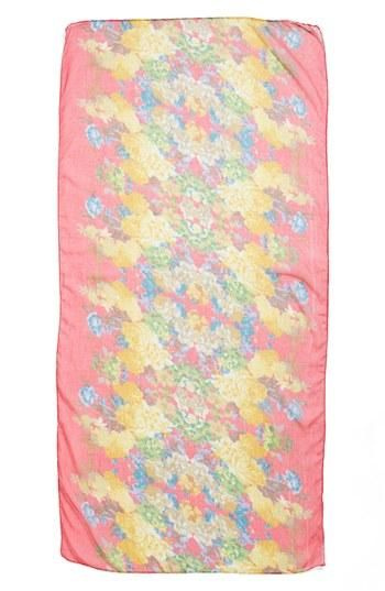Beautiful floral scarf!