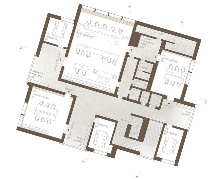 raumfindung Architekten . District Court Extension . Meilen (10)
