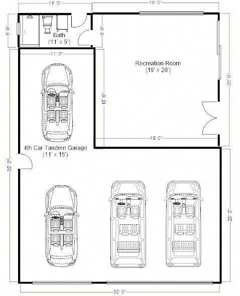 Garageideas Oversized 3 Car Garage Dimensions Need Oversized 3 Car Garage Dimensions Need To Remove My 4t Tandem Garage Garage Dimensions Garage Plans