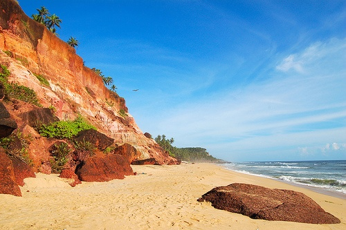 South Cliff Beach, Varkala