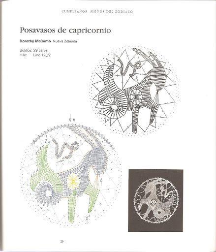 Motivos encaje bolillos zodiaco - isamamo - Picasa Webalbums