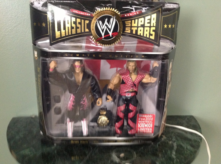 Montreal screwjob two pack action figure