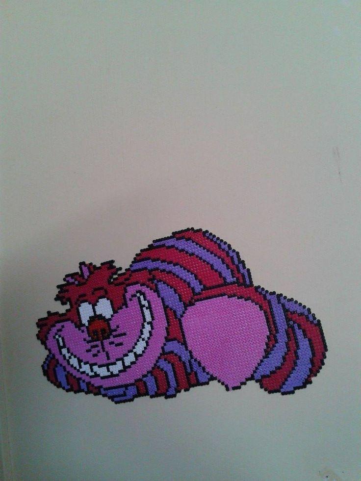 Cheshire Cat Alice In Wonderland Pearler Beads Hama