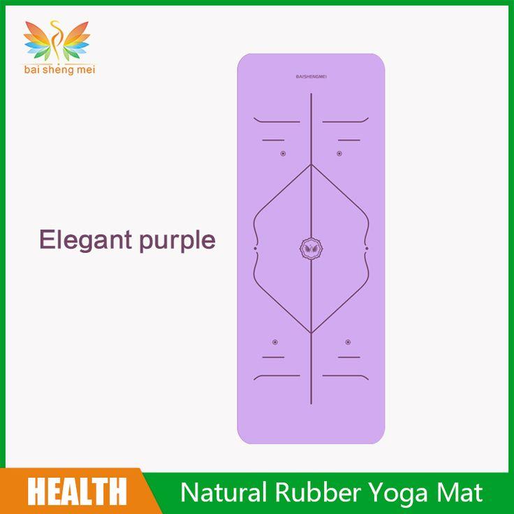 Best Price 5Mm Pu Natural Rubber Yoga Mat Eco Friendly Material Travel Yoga Mat Fitness Equipment #Yoga #Equipment