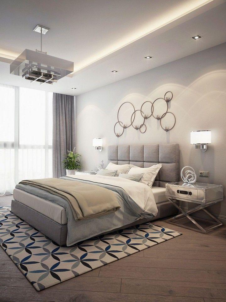 40 Stylish And Beautiful Bedroom Design Ideas In 2020 Apartment Bedroom Decor Bedroom Furniture Design Modern Bedroom Design