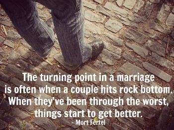 7 Signs Your Marriage May Be Over > Maybe your marriage is over - or maybe your relationship is going through the ups and downs that all couples experience. #marriage #separation #rockylove